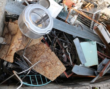 drum washing machine and other scrap ferrous material