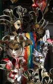 Benátky Itálie karnevalovou masku během slavnosti