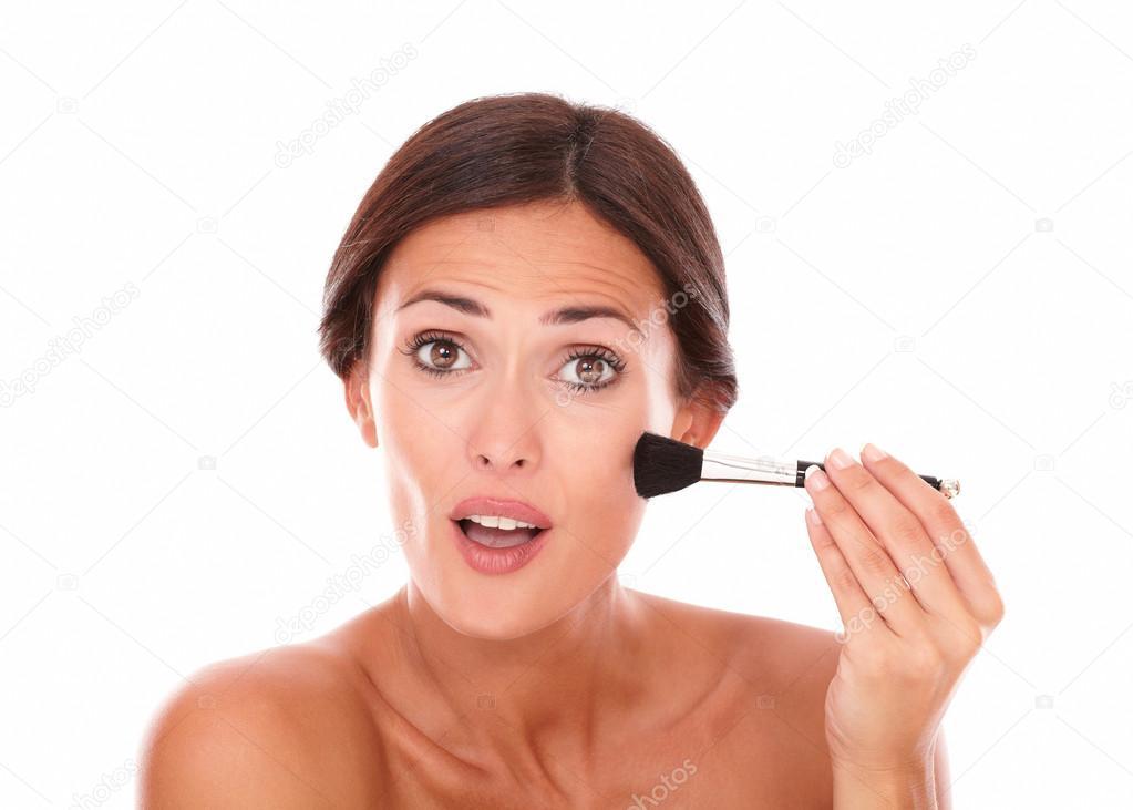 SARA: Nude latina women facial