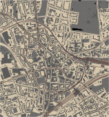Stadtplan von Bochum, Arnsberg, Deutschland