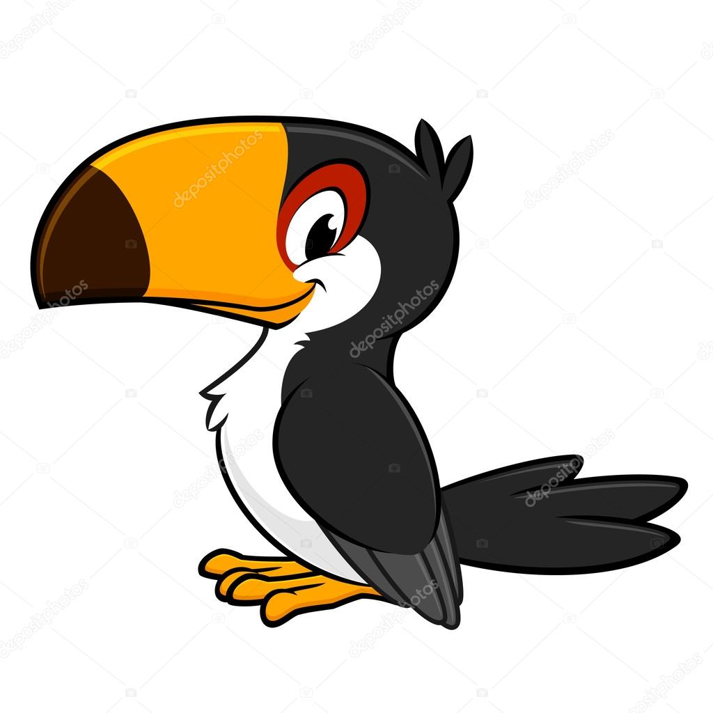 tuc u00e1n de dibujos animados vector de stock  u00a9 mumut 61504671 toucan clipart panda toucan clipart black and white