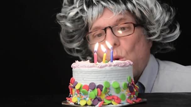 narozeninový dort a svíčky