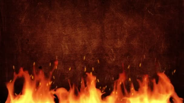 Fire title background