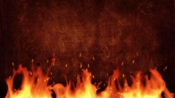 Tűz cím háttér
