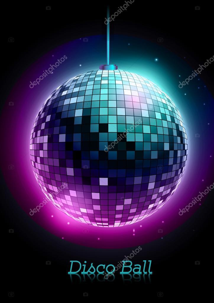 disco bal disco achtergrond stockvector annbozshko 54724279