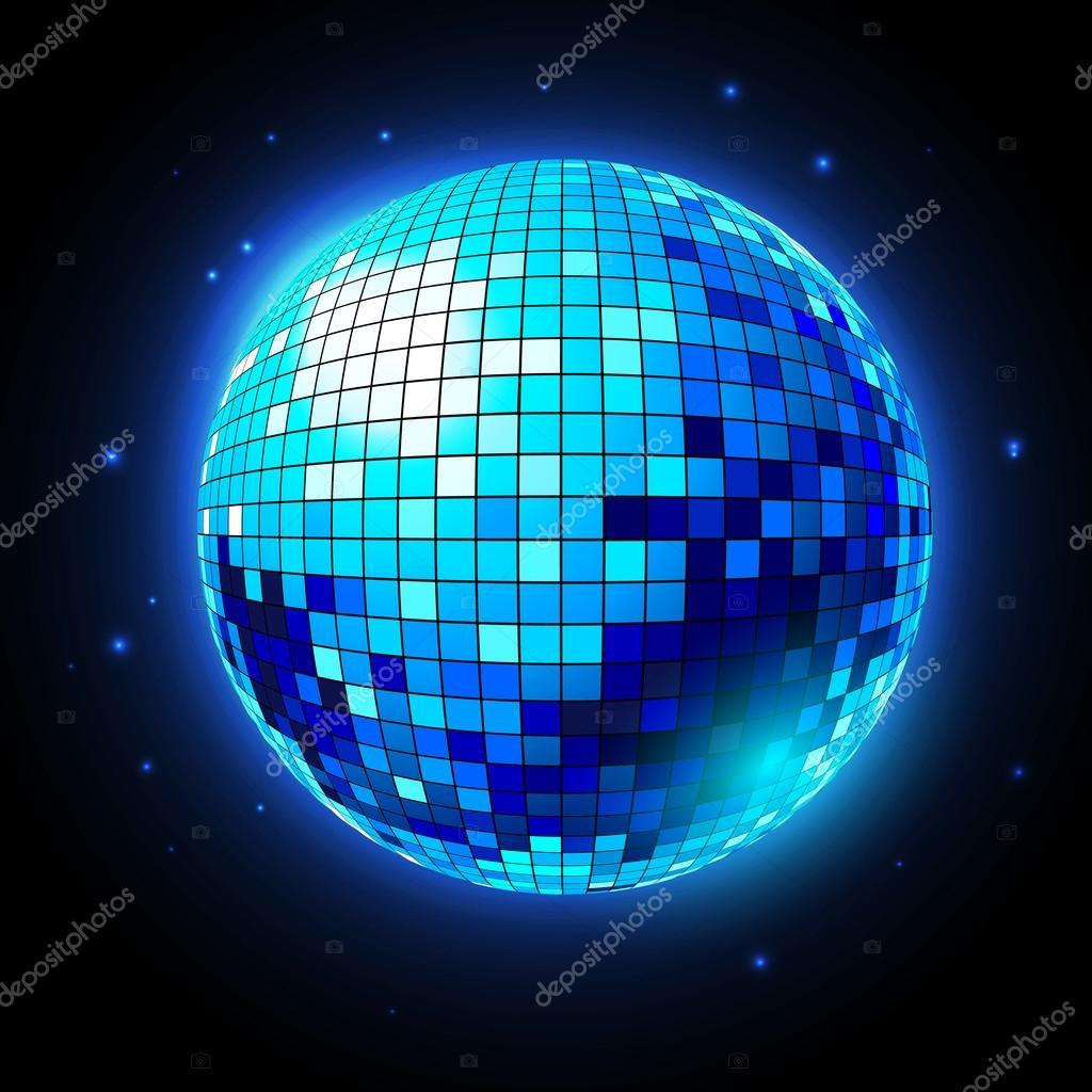 Bola de discoteca fondo discoteca archivo im genes - Bola de discoteca de colores ...