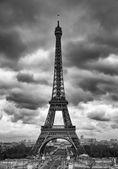 在巴黎的埃菲尔铁塔