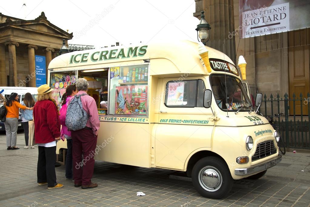 Camion Del Gelato Foto Editoriale Stock Pinkcandy 85771742