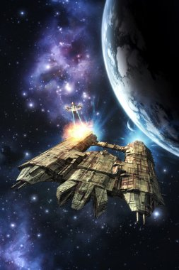 space war and planet