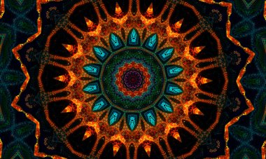 Diwali Mandalas Pattern. pattern for meditation, yoga, chill-out, relaxing, music videos, trance performance, traditional Hindu and Buddhist events