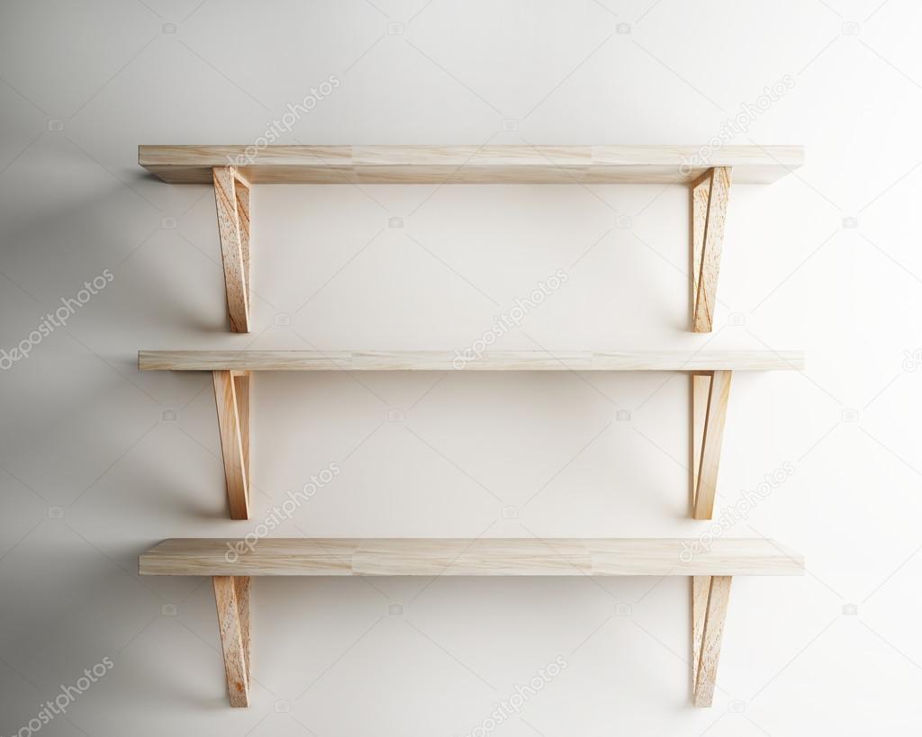Decorare Mensole Legno : Mensola di legno decorare interni u2014 foto stock © sayhmog #71854951