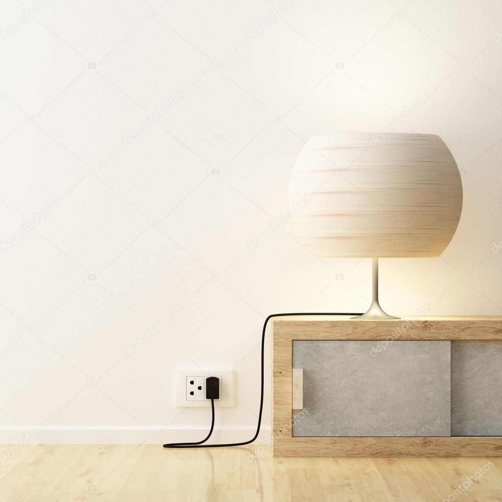 Weißes Licht Auf Schrank Dekorieren Stockfoto Sayhmog 84134338
