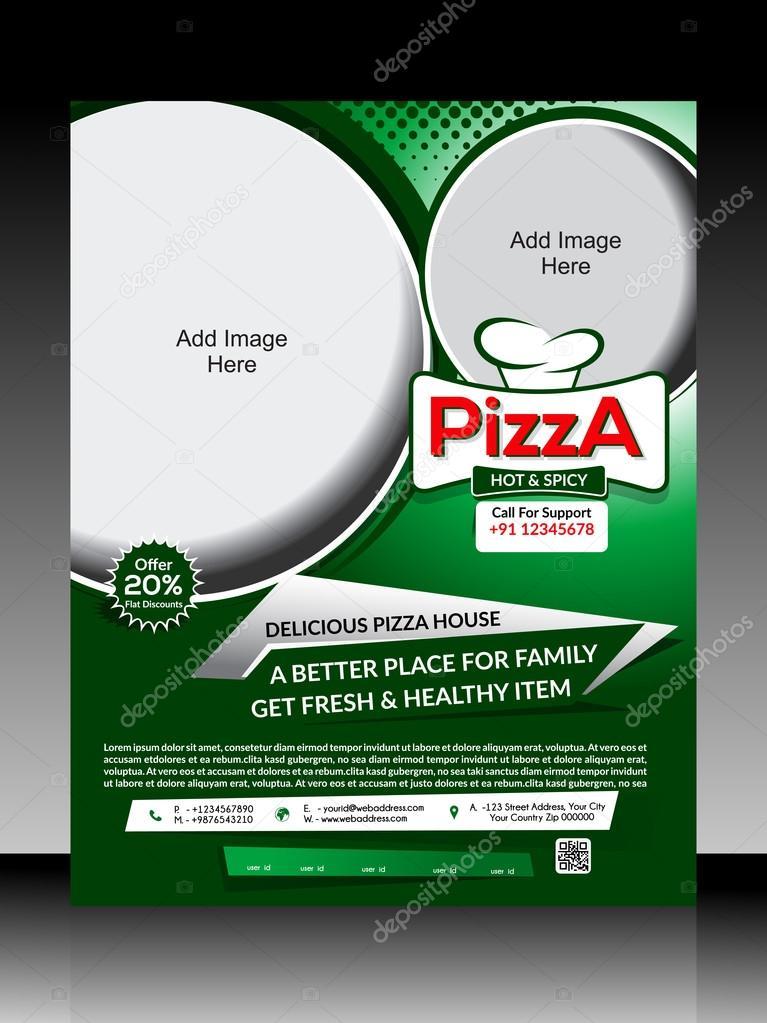 Pizza Flyer Template Stock Vector Gurukripa 55390591