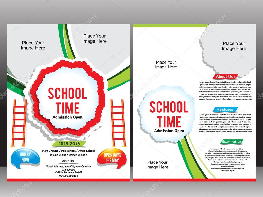 School admission flyer template stock vector gurukripa 64563443 school admission flyer template stock vector saigontimesfo