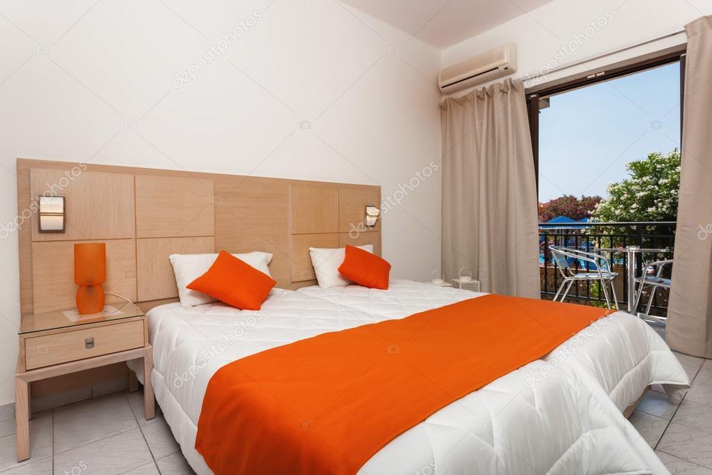 Zimmer Mit Farben Eines Modernen Luxushotels U2014 Stockfoto