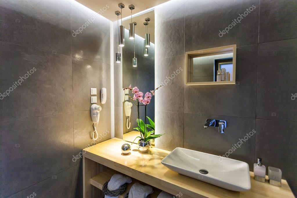 Badezimmer Interieur Ein Luxus Zimmer In Einem Hotel U2014 Foto Von Smoxx