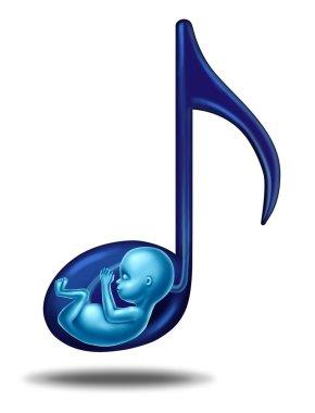 Pregnancy Music Concept