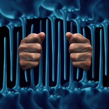 Prison Lies Concept