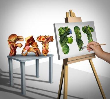 Dieting Focus Symbol