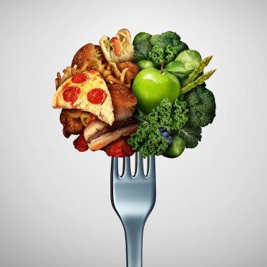 Food Health Options Concept