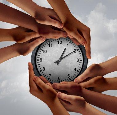 Time Teamwork Concept