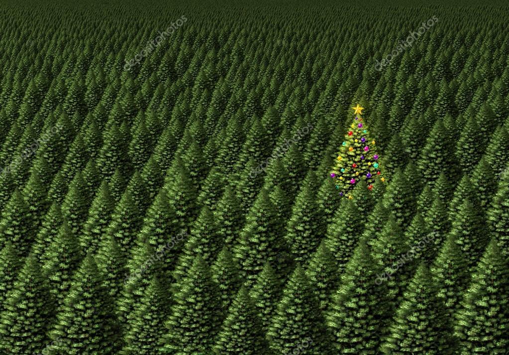 Magical Christmas Tree — Stock Photo © lightsource #52501025