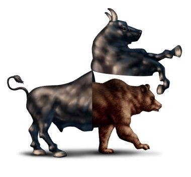 Bear Market Concept