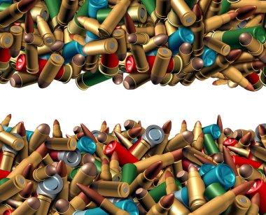 Bullet Ammunition Border