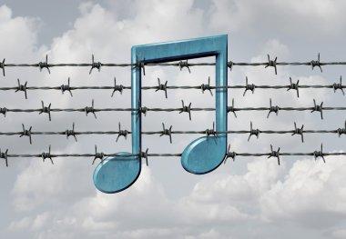 Media Censorship concept