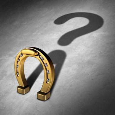 Chance Question Business Concept