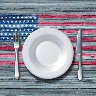 American Cuisine Symbol