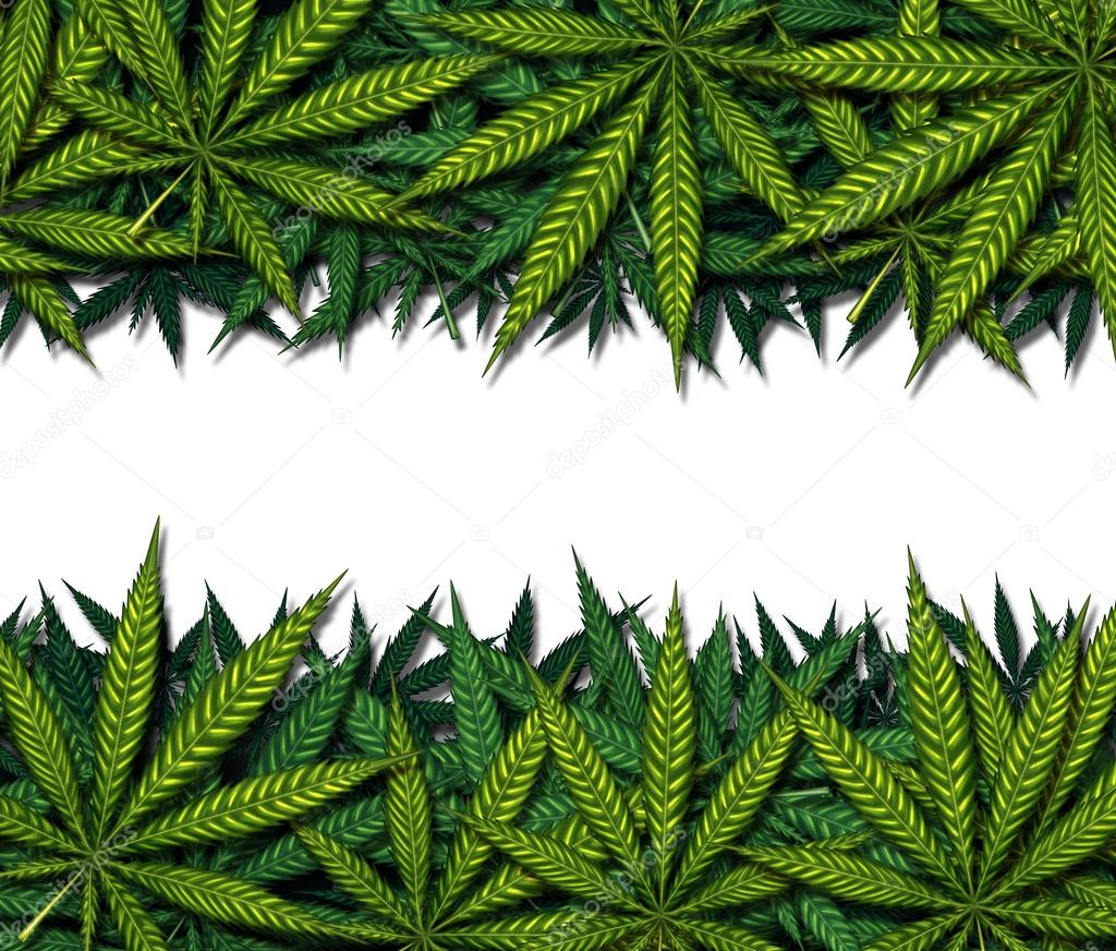 Marijuana Border Design