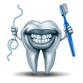 Charakter der Zahnreinigung
