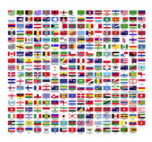 287 country flag icons