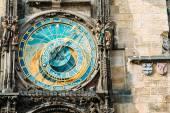 Staroměstský orloj v Praze, Česká republika. Detail fotografie