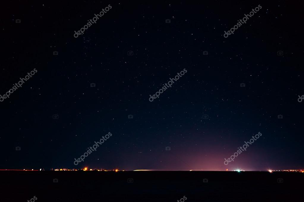 Natural Real Night Sky Stars Background Texture