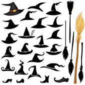 sada Halloween klobouk