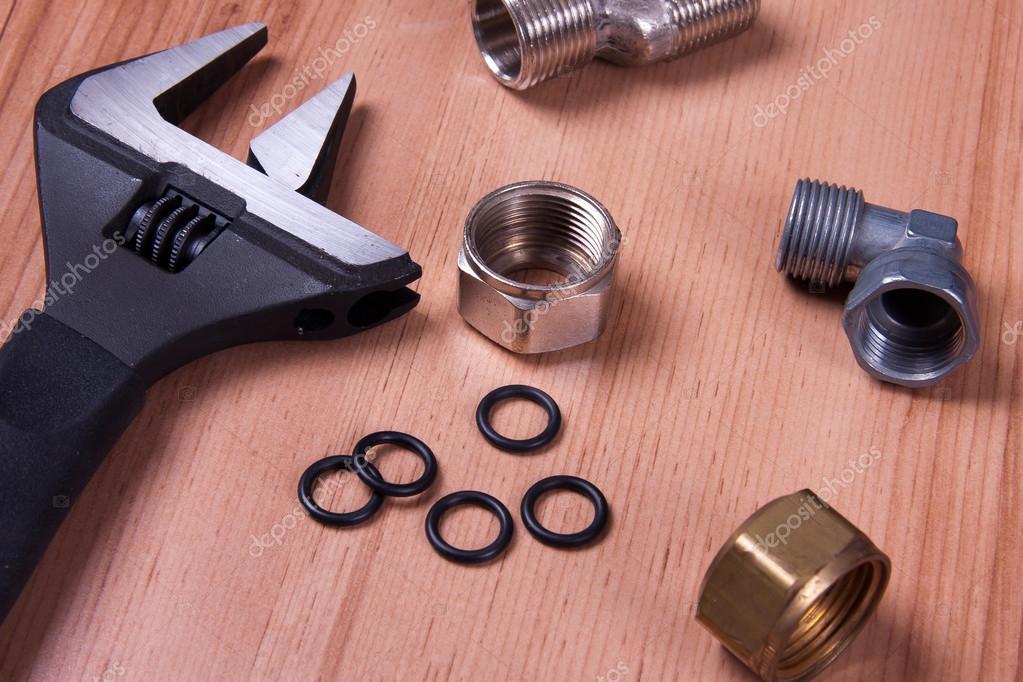 Plumbing tools — Stock Photo © Mirek1967 #66969607