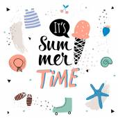 Cute Hello Summer Poster