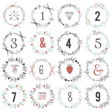 Valentines Day typography