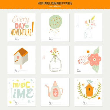Romantic and love cards