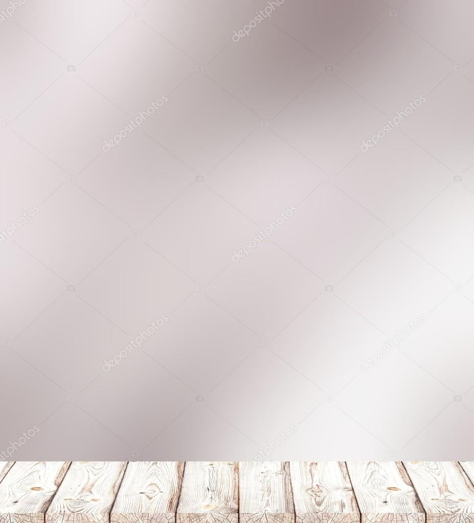 Misty Silver Bright Blur Background Light Rustic Boards Wood Texture Cool Of Early