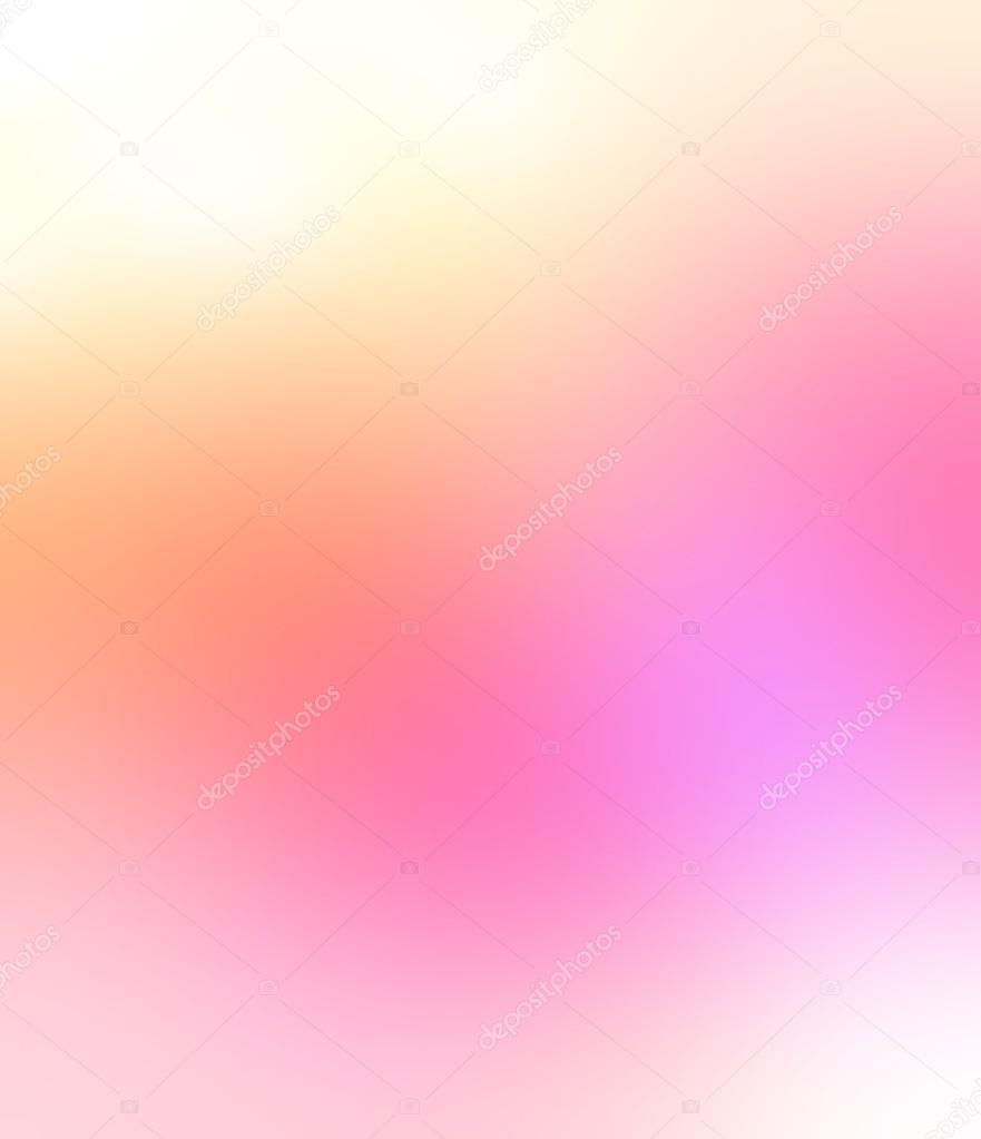 Delicate light pink orange haze background  Glamorous smoky