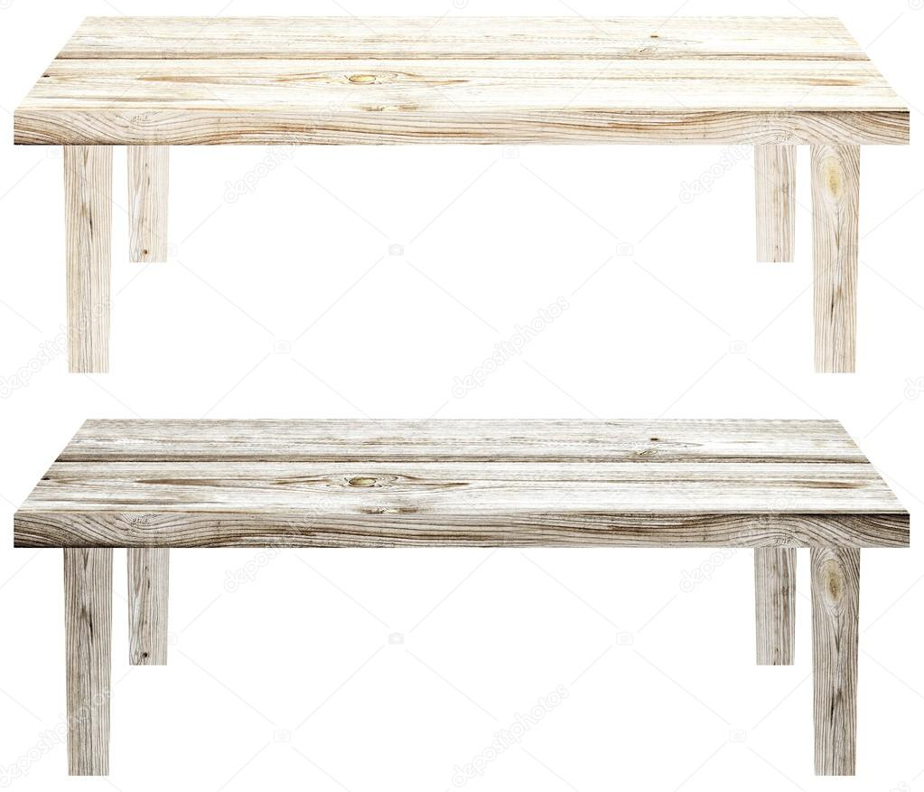 Enjoyable Light Wooden Garden Bench On A White Background Isolated Set Machost Co Dining Chair Design Ideas Machostcouk