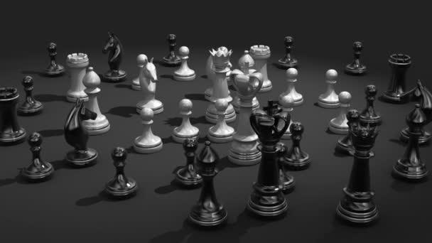 Šachy koncepce animace