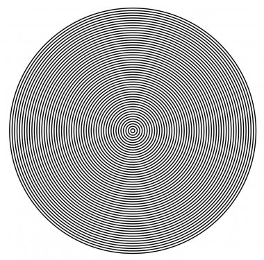 Concentric  circles from center texture