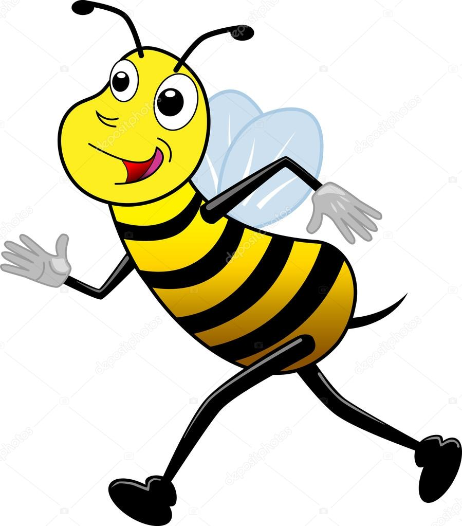 Running Bee Clip Art - Wiring Diagrams •