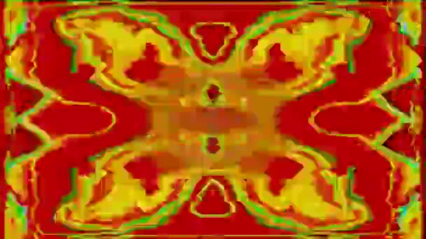 Transforming bokeh cyberpunk trendy shimmering background.