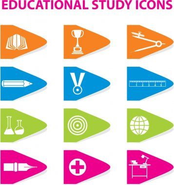 Colourful Educational Icons