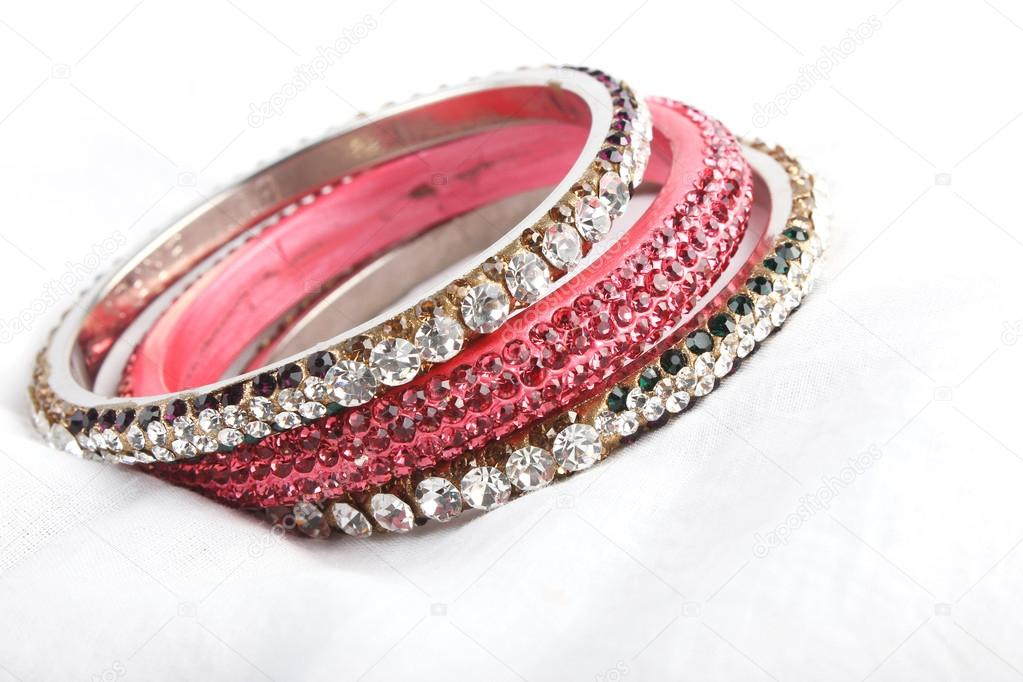 Beautiful & very Attractive Bangles. Indian Bracelet — Stock Photo ...